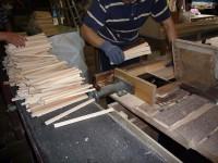 割り箸制作