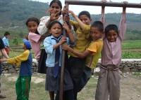 ネパールの子どもたち